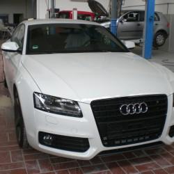 Audi nach Lackierung